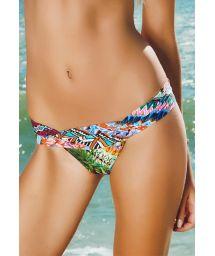 Multicolour bottom, pleated waistband - CALCINHA RIBEIRINHA