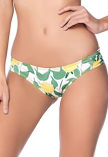 Bikinihose mit Zitronenmotiv - BOTTOM FOLHAGEM LIMON