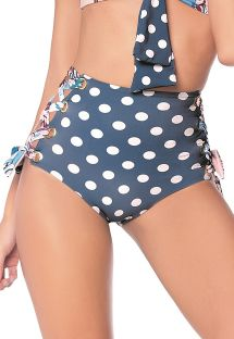 BOTTOM HOT NAVY GUACAS LATIN