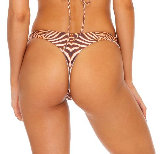 BOTTOM REVERSIBLE HALTER SAFARI DREAMS