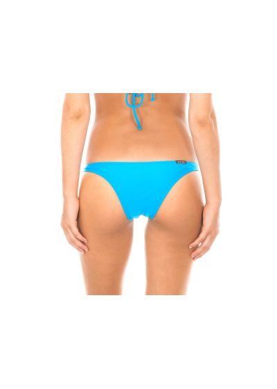 Blue tanga bikini bottom - BLUE BASIC