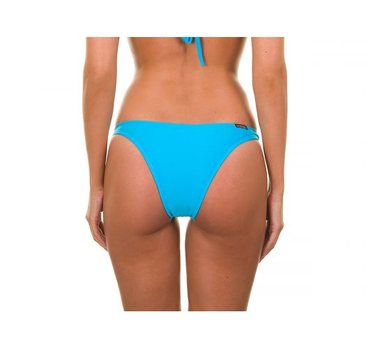 Blue swimsuit bottom with rings - BLUE TRIO