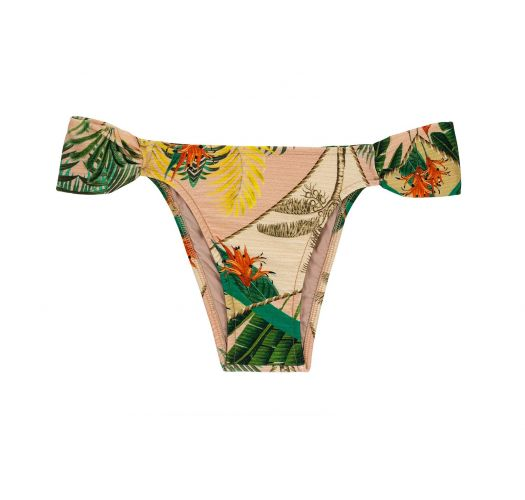 BBS X RIO DE SOL - Bikinihose mit Blattprint - BOTTOM ALPINIA TRANSPASSADO