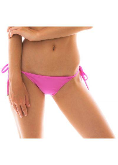 Pink side-tie bikini bottom - BOTTOM BIKINI TRI