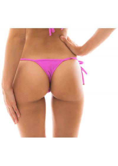Pink side-tie string bikini bottom - BOTTOM BIKINI TRI MICRO