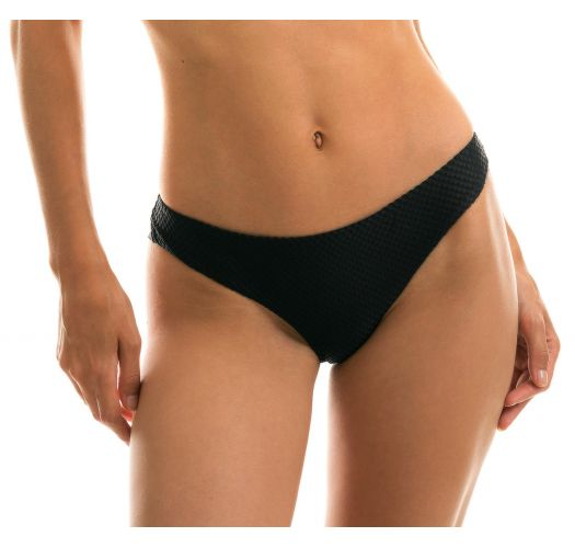 BOTTOM CLOQUE PRETO BANDEAU