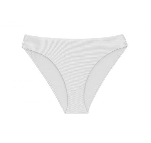Ribbed white bikini bottom - BOTTOM COTELE-BRANCO COMFY