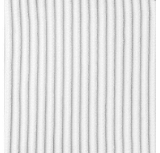 White ribbed double side-tie bikini bottom - BOTTOM COTELE-BRANCO RIO