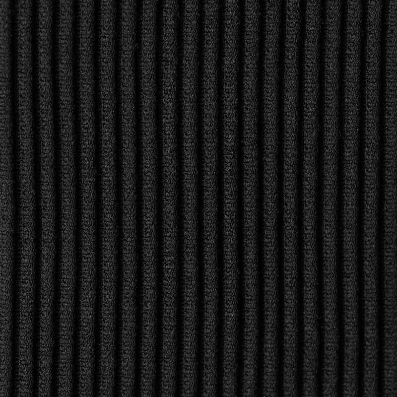Black ribbed double side-tie bikini bottom - BOTTOM COTELE-PRETO RIO
