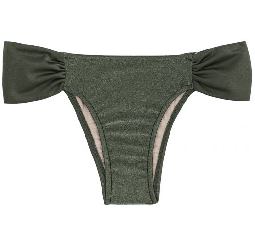 Festet badetanga kaki - BOTTOM CROCO TRANSPASSADO