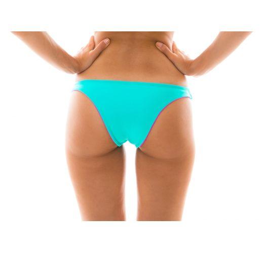 Reversible bikini bottom blue / pink - BOTTOM DUO PINK BLUE