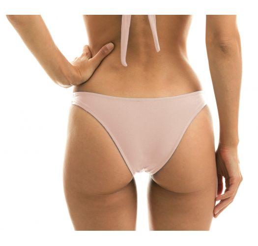 Nude pink high-leg bikini bottom - BOTTOM ESSENCE BANDEAU