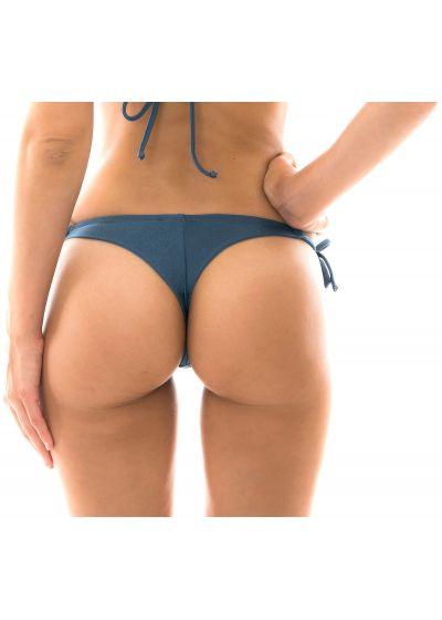 Blue side-tie bikini briefs - BOTTOM GALAXIA DETAIL