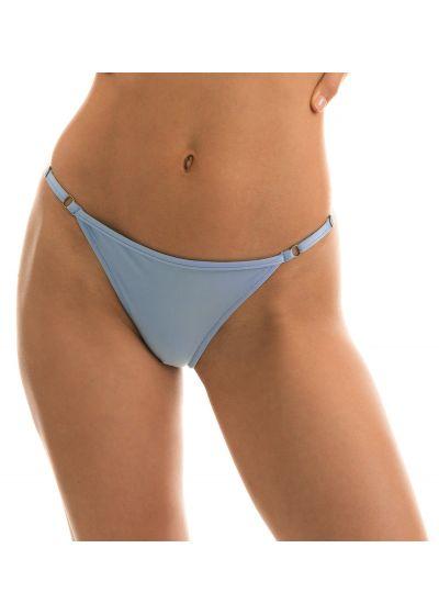 Adjustable denim blue string bikini bottom - BOTTOM GAROA TRI ARG MICRO