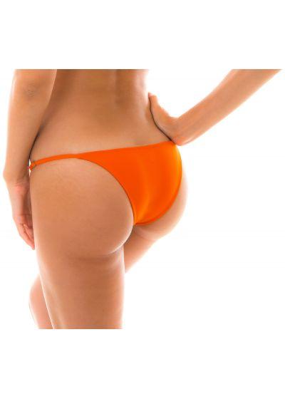 Tangerine-orange reglerbar badtanga med tunna sidoband - BOTTOM KING ARG FIXO