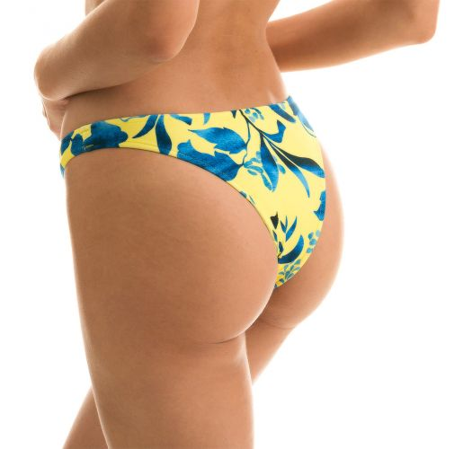 BOTTOM LEMON FLOWER BANDEAU