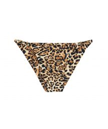 Adjustable scrunch bikini bottom - leopard - BOTTOM LEOPARDO INV COMFORT