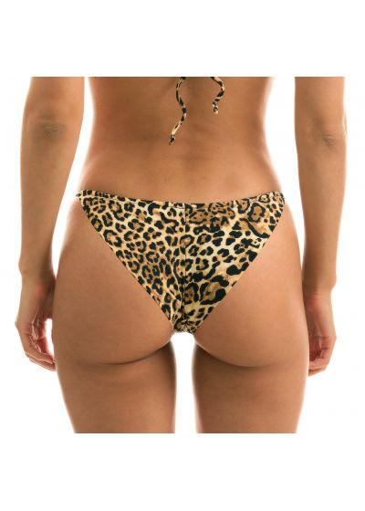 Adjustable scrunch bikini bottom - leopard - BOTTOM LEOPARDO INV COMFORT