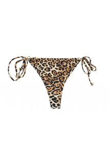 perizoma con stampa leopardata accessoriato - BOTTOM LEOPARDO INVISIBLE MICRO