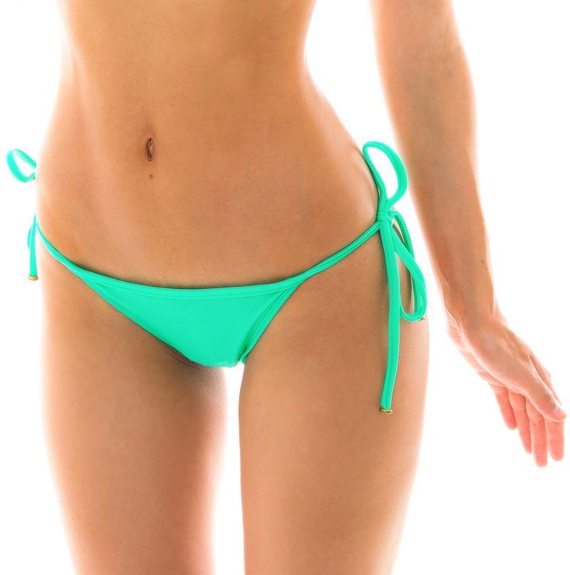 Green side-tie Brazilian bikini bottom - BOTTOM MARESIA TRI