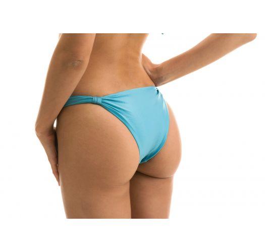 Sky blue bikini bottom with sliding rings - BOTTOM ORVALHO BALCONET