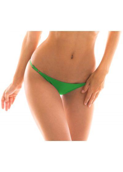 Grön reglerbar badtanga med tunna sidoband - BOTTOM PETER PAN ARG FIXO