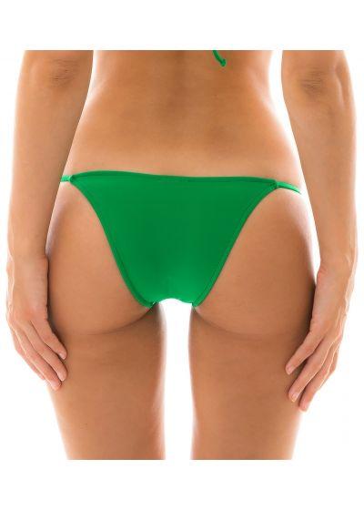Grön, knytbar smyckad nedredel - BOTTOM PETER PAN LACINHO