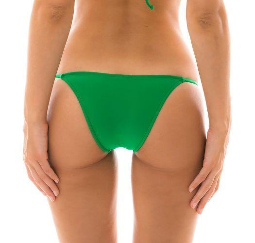 Green side-tie bikini bottom - BOTTOM PETER PAN LACINHO