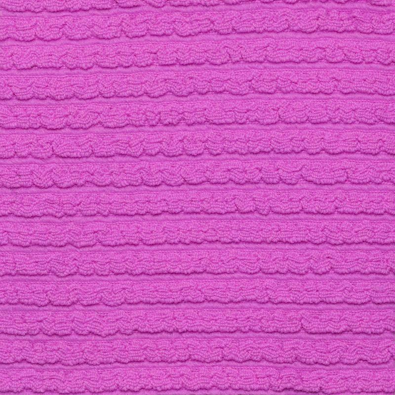 Textured pink magenta fixed bikini bottom - BOTTOM ST-TROPEZ-PINK ESSENTIAL