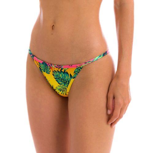Braguita de bikini brasileña fija tropical multicolor - BOTTOM SUN-SATION CALIFORNIA