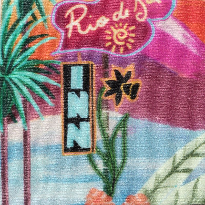 Colorful tropical cheeky Brazilian bikini bottom - BOTTOM SUNSET CHEEKY-FIXA