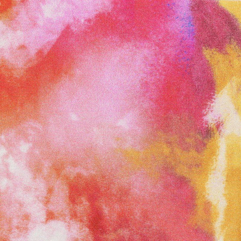 Bas brésilien à nouer tie dye rouge/orange - BOTTOM TIEDYE-RED IBIZA