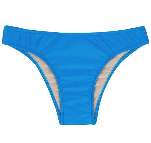 Tanga de biquíni fixa azul - BOTTOM URANO CORTINAO