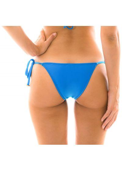 Blå, brasiliansk nederdel med knytband och accessoarer - BOTTOM URANO LACINHO