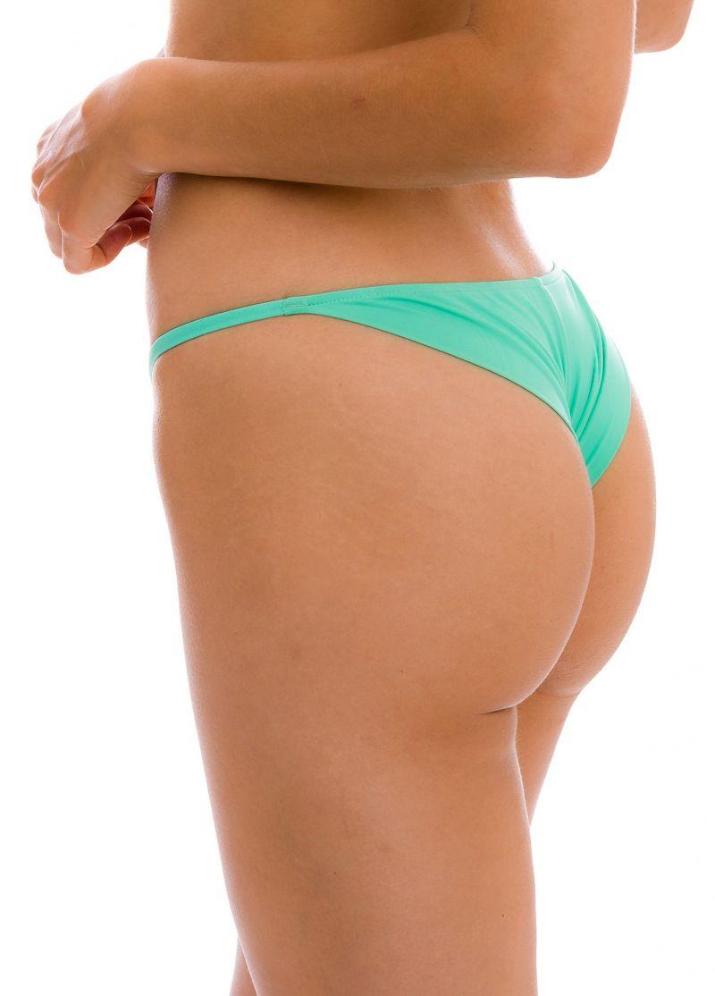 Water green cheeky Brazilian bikini bottom with thin sides - BOTTOM UV-ATLANTIS CHEEKY-FIXA