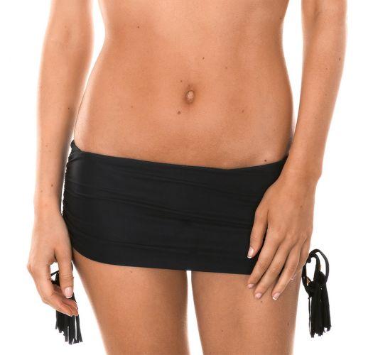 Brazilian bikini bottom - CALCINHA AMBRA JUPE BLACK