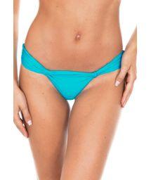 Low-risesky blue swimsuit tanga - CALCINHA AMBRA MEL NANNAI