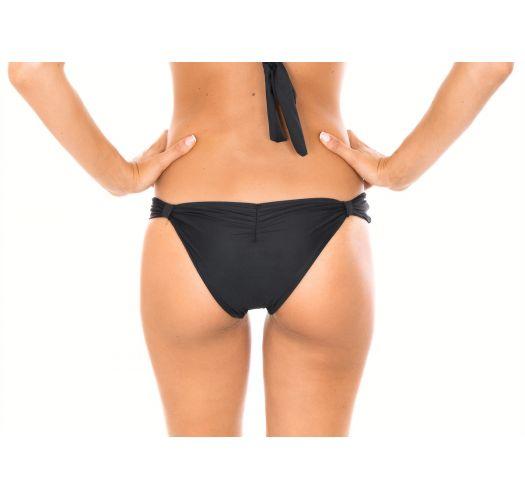 Glidende sorte tanga bikinitrusser med lav talje - CALCINHA AMBRA MEL PRETO