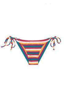 Braguita de bikini brasileño con rayas de colores - CALCINHA BEIRA RIO CHEEKY