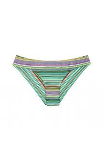 Groen gestreept Braziliaans bikinibroekje - CALCINHA IEMANJA SPORTY