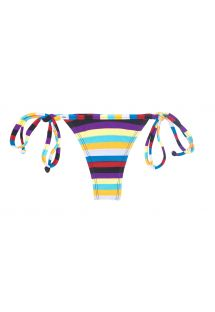 String � rayures multicolores - CALCINHA INHAMBUS MICRO