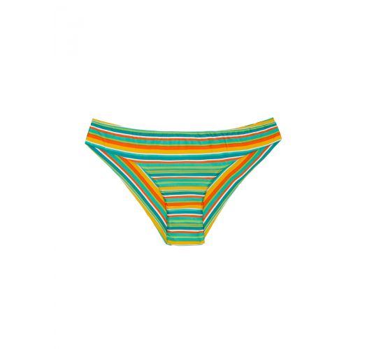 Плавки бикини в бразильском стиле в разноцветную полоску - CALCINHA LEI SPORTY