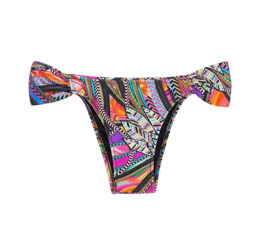 Multicolouredscalloped fixed bikini bottoms - CALCINHA SAMARCANDA COOL