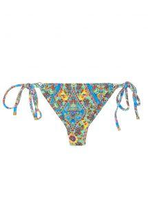 Thong bikini bottom vintage floral - CALCINHA SARI TRI FIO