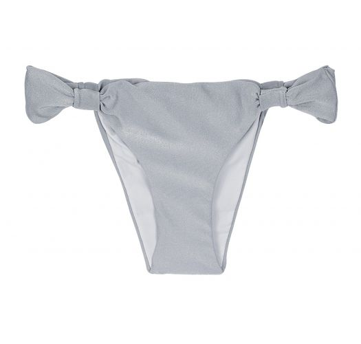 Silvery Brazilian bottoms fabric hoops - CALCINHA SILVER CORTINÃO