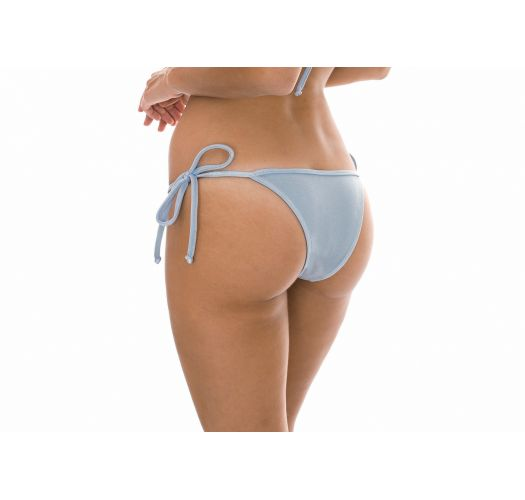 Silver Brazilian bottoms which can be tied - CALCINHA SILVER TRI
