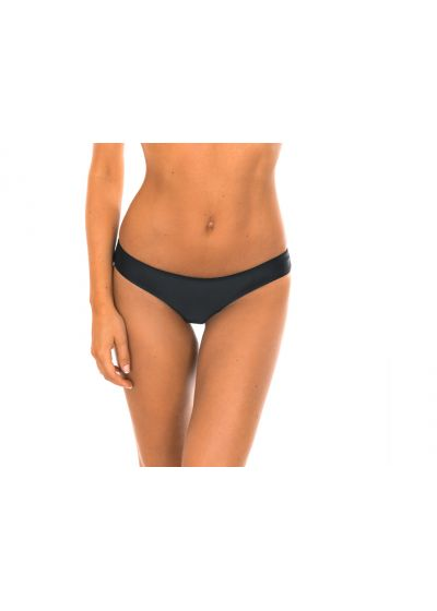 Empty back tight black bikini bottom - CALCINHA SPORTY PRETO