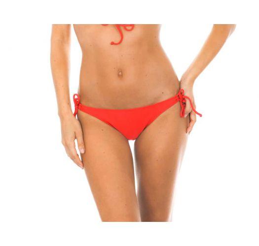 Brazilian bikini bottom - CALCINHA TIRAS COSTAS RED
