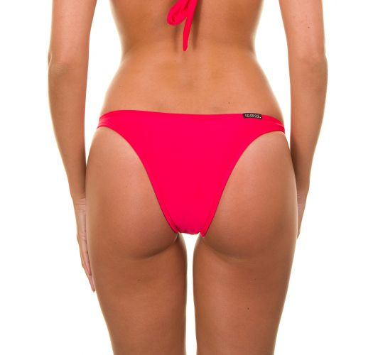 Dark pink swimming bottoms with rings - FRUTILLY TRIO