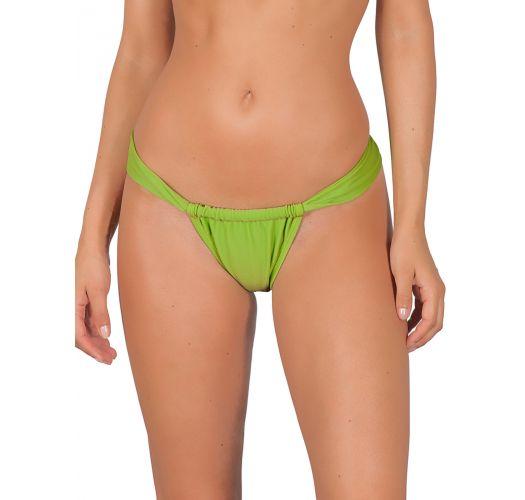 Tanga de bain coulissant vert taille basse - JUREIA SUMO